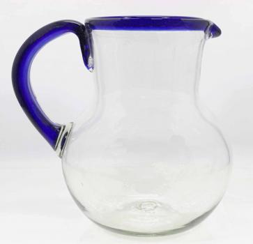 Pitcher Blue Rim - Big