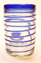 Whiskyglass Blue Whirl
